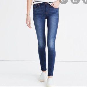 "Madewell 9"" Mid-rise Skinny Jean - 24"